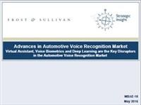 Advances in Automotive Voice Recognition Market
