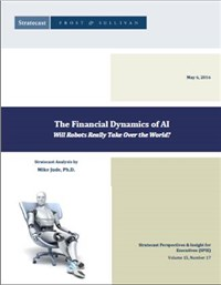 The Financial Dynamics of AI  Will Robots Really Take Over the World?