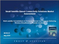 Small Satellite Based Connectivity Solutions Market Assessment