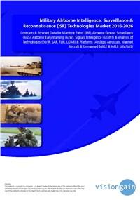 Military Airborne Intelligence, Surveillance & Reconnaissance (ISR) Technologies Market 2016-2026
