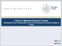 Future of Manufacturing in Europe