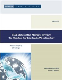 BDA State of the Market: Privacy You Want Me on Your Data- You Need Me on Your Data