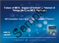 Future of MES—Impact of Industrial Internet of Things (IIoT) on MES Platforms