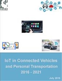 IoT in Connected Vehicles and Personal Transportation 2016 - 2021