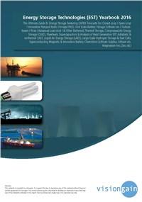 Energy Storage Technologies (EST) Yearbook 2016