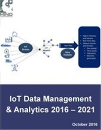 IoT Data Management and Analytics Market Outlook & Forecasts 2016 - 2021