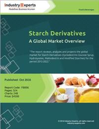 Starch Derivatives – A Global Market Overview