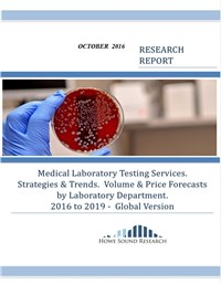 Medical Laboratory Services - 2016 to 2019 Global Version