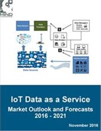 IoT Data as a Service (IoTDaaS) Market Outlook and Forecasts 2016 - 2021