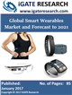 Cover Image- Global Smart Wearables Market and Forecast to 2021
