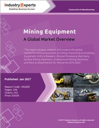 Mining Equipment - A Global Market Overview