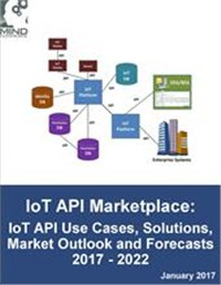 Internet of Things API Marketplace: IoT API Use Cases, Solutions, Market Outlook and Forecasts 2017 - 2022