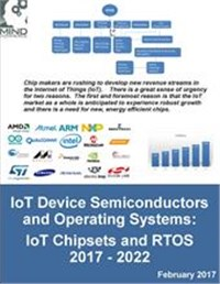 IoT Device Semiconductors and Operating Systems: IoT Chipsets and RTOS 2017 - 2022
