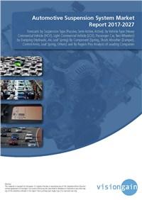 Automotive Suspension System Market Report 2017-2027
