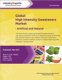 Global High Intensity Sweeteners Market – Artificial and Natural