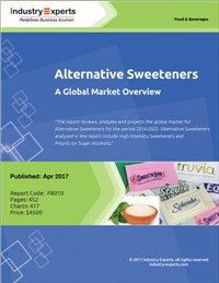 Alternative Sweeteners - A Global Market Overview