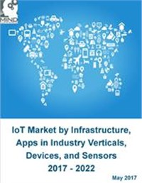 IoT Market by Infrastructure, Applications in Industry Verticals, Devices, and Sensors 2017 - 2022
