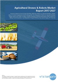 Agricultural Drones & Robots Market Report 2017-2027
