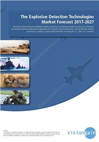 The Explosive Detection Technologies Market Forecast 2017-2027