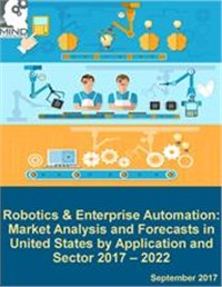 Robotics and Enterprise Automation: Market Analysis and Forecasts in United States by Application and Sector 2017 - 2022