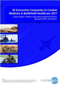 50 Innovative Companies in Combat Medicine & Battlefield Healthcare 2017