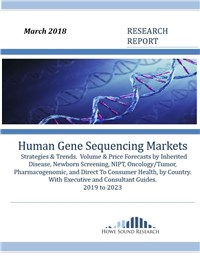 Human Gene Sequencing Markets, Strategies & Trends - 2019 to 2023