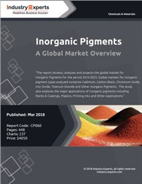 Inorganic Pigments - A Global Market Overview