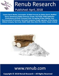Cassava Starch Market, Consumption & Global Forecast