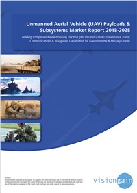 Unmanned Aerial Vehicle (UAV) Payloads & Subsystems Market Report 2018-2028