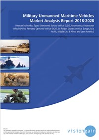Military Unmanned Maritime Vehicles Market Analysis Report 2018-2028
