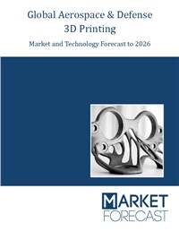 Global Aerospace & Defense 3D Printing Market and Technology Forecast to 2026