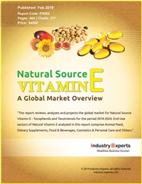 Natural Source Vitamin E (Tocopherols and Tocotrienols) - A Global Market Overview