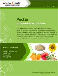 Pectin - A Global Market Overview