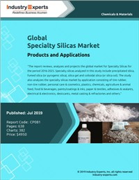 Global Specialty Silicas Market - Products and Applications