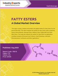 Fatty Esters - A Global Market Overview