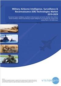 Military Airborne Intelligence, Surveillance & Reconnaissance (ISR) Technologies Market 2019-2029