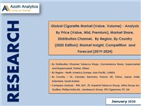 Global Cigarette Market - Market Insight, Competition and Forecast (2019-2024)