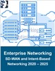 Cover Image- Enterprise Networking Optimization: SD-WAN and Intent-Based Networking 2020 – 2025