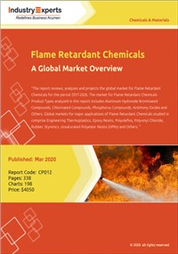 Flame Retardant Chemicals – A Global Market Overview