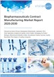 Biopharmaceuticals Contract Manufacturing Market Report 2020-2030