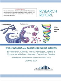 Whole Genome And Exome Sequencing Markets - 2020 to 2024
