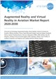 Cover Image- Augmented Reality and Virtual Reality in Aviation Market Report 2020-2030