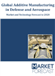 Cover Image - Global Additive Manufacturing in Defense and Aerospace - Market and Technology Forecast to 2028