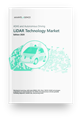 Cover Image - ADAS and Autonomous Driving LiDAR Technology Market, Edition 2020