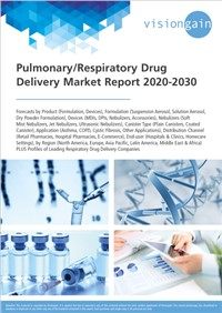 Pulmonary/Respiratory Drug Delivery Market Report 2020-2030