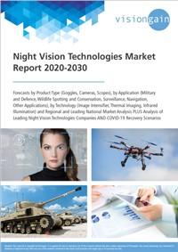 Night Vision Technologies Market Report 2020-2030