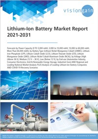 Lithium-Ion Battery Market Report 2021-2031