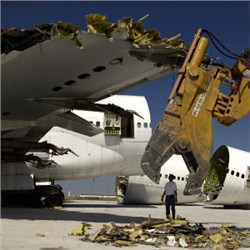 Dismantled Components Dominate the End-of-Life Aircraft Market