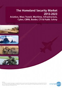 The Homeland Security Market 2013-2023: Aviation, Mass Transit, Maritime, Infrastructure, Cyber, CBR...